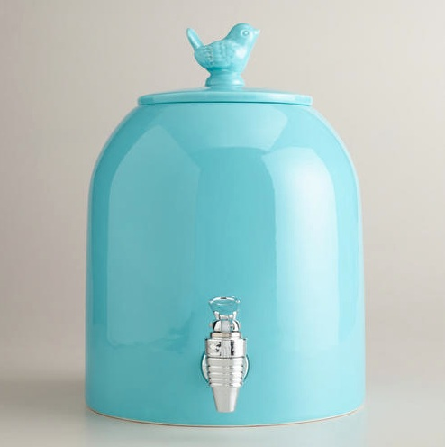 Aqua Ceramic Drink Dispenser